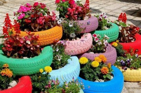 tire flower beds tire flower bed these would look cool in front of msa