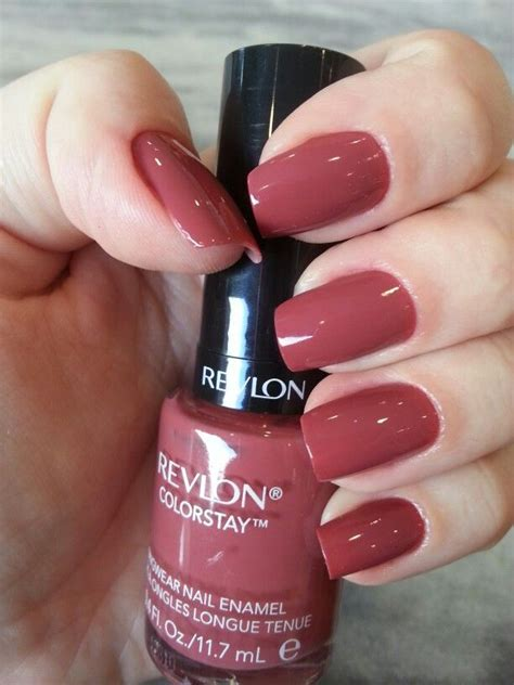 Revlon Nail Colour Teak 310 vintage revlon nail my collection manicure makeup and nail nail
