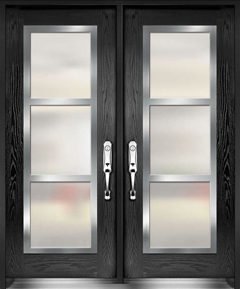 Glass Inserts For Exterior Doors 17 Best Images About Front Door On Entry Doors Iron Doors And Stainless Steel