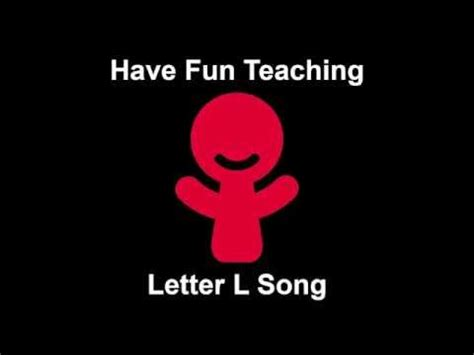 fun l letter l song audio youtube