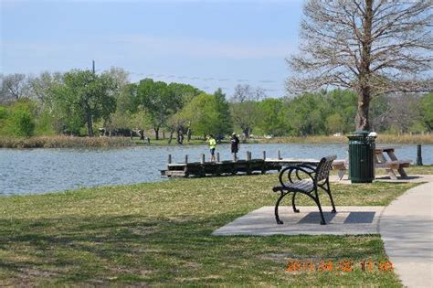 white rock lake park view from one picnic table of the pier we use for fishing picture of white rock lake