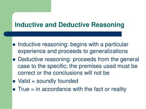 define induction vs deduction define induction and deduction 28 images inductive vs deductive reasoning worksheet