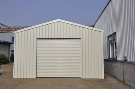 Prefab Metal Sheds by Prefabricated Metal Car Sheds