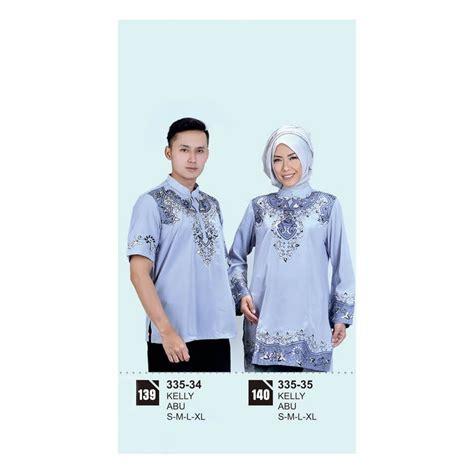 Baju Muslim Pasangan Azzura 335 34 Dan 335 35 baju koko muslim pria 335 34