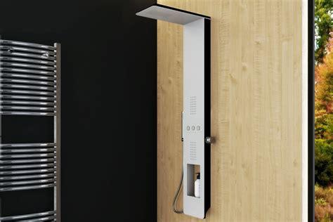 pannelli doccia pannello doccia idromassaggio ultraflat bianco e nero
