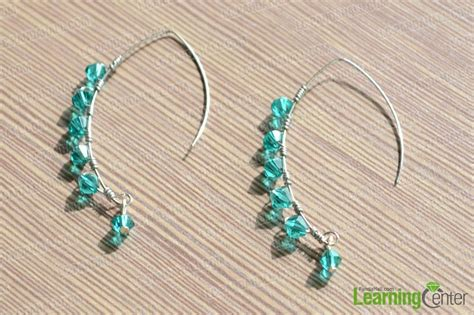 design your own coil earrings with and wire