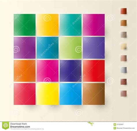 color squares color squares stock vector image of colors diagram