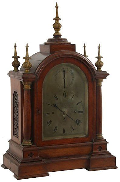 chinese triple fusee and gilt bronze bracket clock with auction lot 56 thos gammage son triple fusee