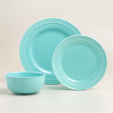 aqua nantucket dinnerware everything turquoise
