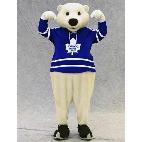 toronto maple leafs carlton the toronto maple leafs mascot carlton the