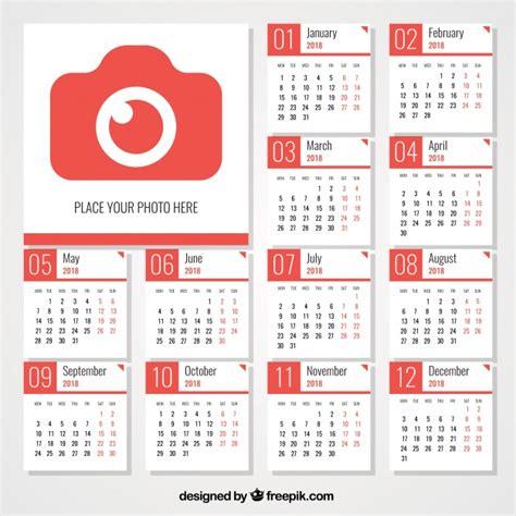 Calendario 2018 Vetor Calend 225 2018 C 226 Mera Baixar Vetores Gr 225 Tis