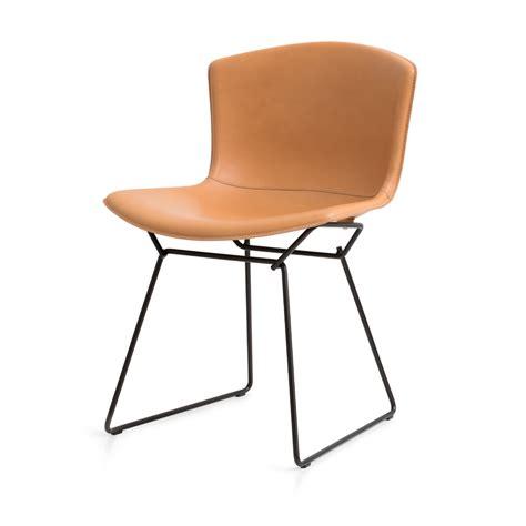 Chair Bertoia by Bertoia Plastic Side Chair In Cowhide Knoll