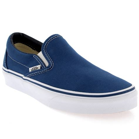 mens slip on sneakers mens vans classic slip canvas slip on sneakers casual