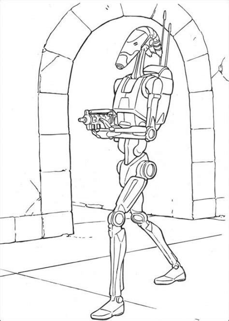 star wars droid coloring page star wars printable coloring pages