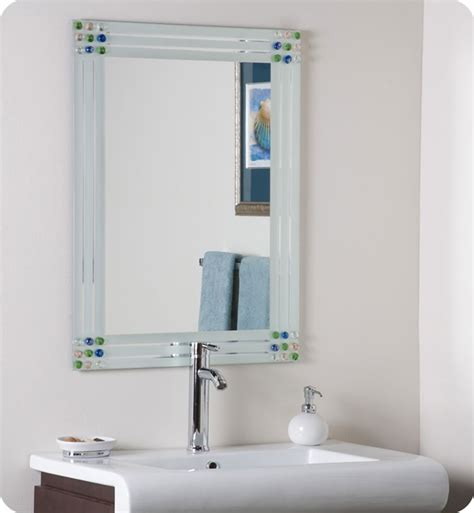 next bathroom mirror decor wonderland ssm19 bejeweled frameless bathroom mirror