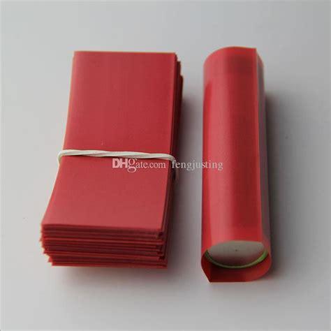 Murah Battery Wrap 18650 Ultrafire Pvc Sleeve Plastik Baterai Pelindu 18650 battery heat shrink wraps pvc insulation re wrap tubing for 18650 series li ion battery