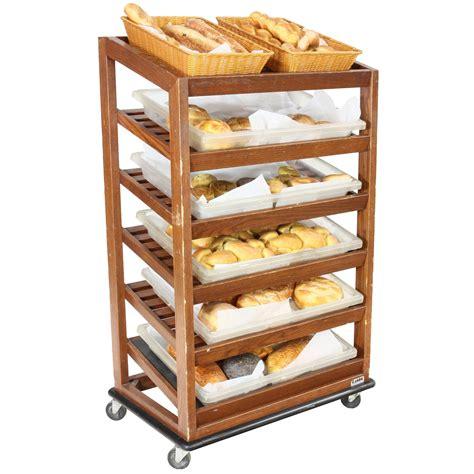Shelf Of Bread by Bread Display Rack 6 Shelf Wood Air Designs