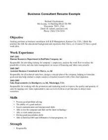business consultant resume sle nursing consultant resume sales nursing lewesmr