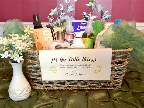 thingsbathroom baskets crafty wedding