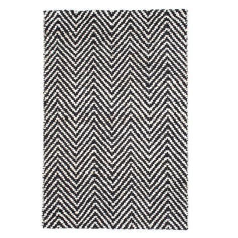 black and white herringbone rug hton rug