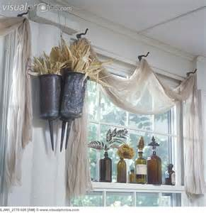 Sheer Curtains And Scarves Nets Happy Place Vintage Window Ideas
