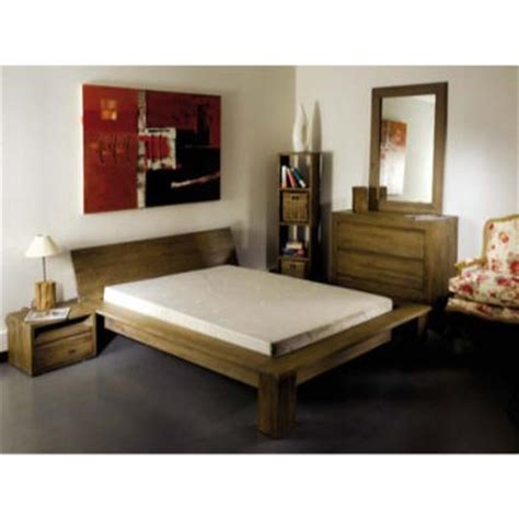 Solid Teak Bedroom Furniture by Cosmo Grey Tinted Solid Teak Bedroom Set Set With