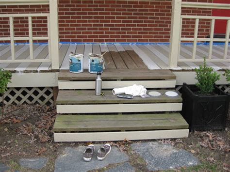 What Color Should I Paint My Shutters how to paint a wood deck or front porch we did subtle