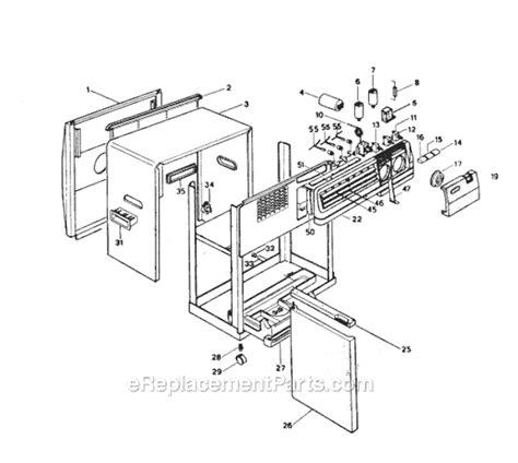 delonghi air conditioner parts delonghi pac02 parts list and diagram ereplacementparts