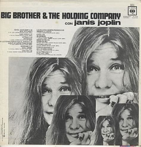 big brother  holding  big brother  holding company  janis joplin mexican promo