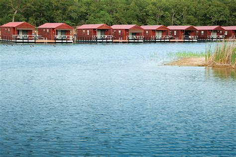 Lake Murray Oklahoma Cabins by Pods Rentals Rates American Hwy
