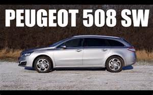 Peugeot 508 Wagon Eng Peugeot 508 Sw 2015 Test Drive And Review