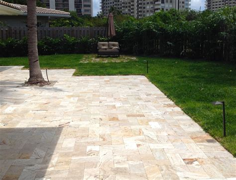 Travertine Patio Pavers Leonardo Travertine Pavers Sefa