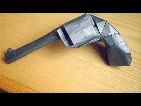 Easy Origami Gun - origami gun