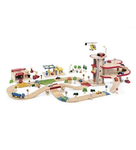 magic cabin toys magic cabin 36 planwood deluxe road system wooden