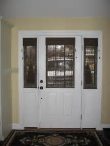 Front Door Window Treatment Glass Door Solution Window Treatments Philadelphia By Blinds Designs