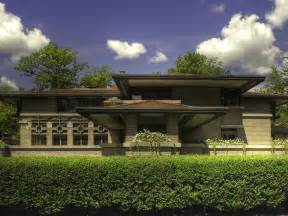 frank lloyd wright prairie style houses house fairfield