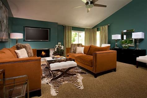 brown and teal living room teal and brown living room ideas