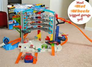 Check Out The Hot Wheels® Ultimate Toy Car Garage & Play