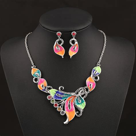spray paint jewelry gold 2014 new design gold chain spray paint metal flower