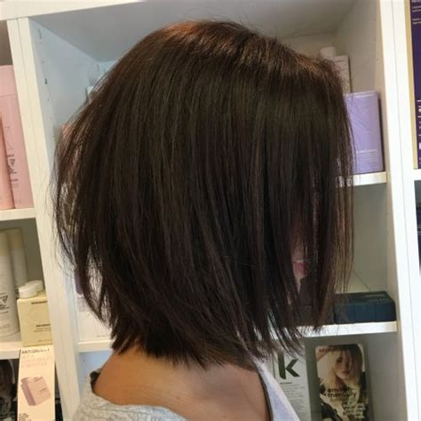 how to stylea med razored bob 40 cutest shoulder length bob hairstyles for 2018