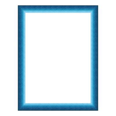 cornice 60x80 cornice bicolor e azzurro 60 x 80 cm prezzi e offerte