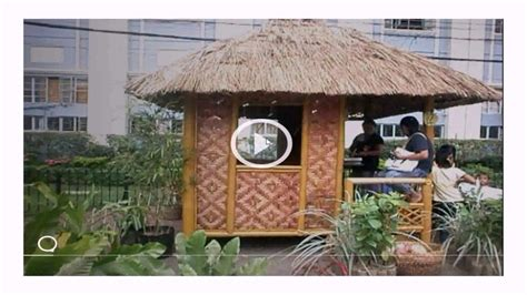 bahay kubo design house bahay kubo house design philippines youtube