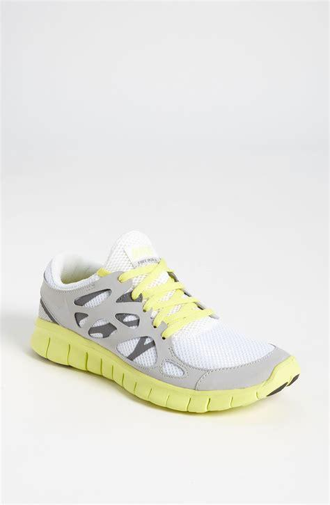womens yellow nike running shoes nike free run 2 ext running shoe in white metallic