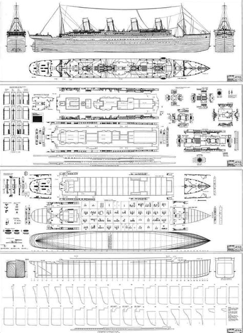 titanic floor plan blueprints of the ship of dreams titanic pinterest