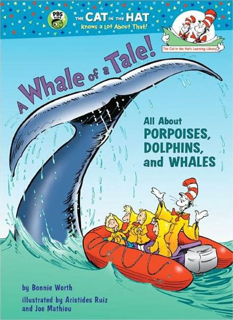 a whale of a tale once upon a books dr seuss a whale of a tale all about porpoises dolphins