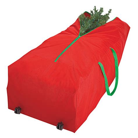 it s a keeper rolling christmas tree storage bag big lots