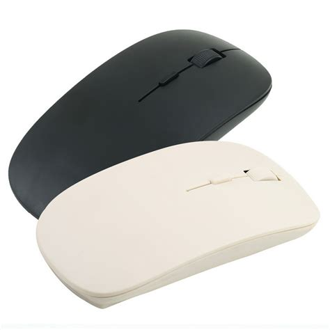 Dijual Thin Wireless Mouse On Sale 2 4g Wireless Ultra Thin Optical Mouse For Laptop Ea Ebay