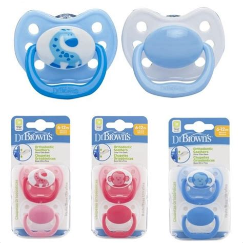 Dr Brown S Pacifier Stage 2 Giraffe Assorted Colors 2 Pack dr brown s orthodontic soother assorted stage 2 2 pcs 6 12m