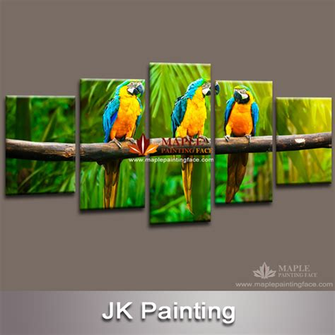 painting for 5 canvas painting 5 canvas animal painting of