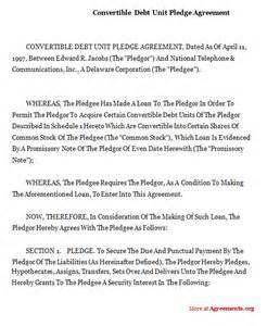 Agreement Letter For Debtor Debt Settlement Letter From Debtor Images Frompo